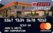 CEFCO Fleet Card Mastercard | Fleet Cards