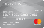 The Driven Card Mastercard | Gas Cards for Business