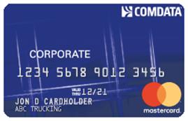 Comdata Corporate Mastercard by FleetcardsUSA