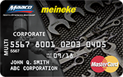 Meineke Fleet Solutions Mastercard