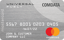 Comdata Universal Mastercard by FleetcardsUSA