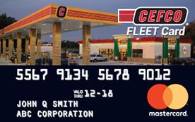 CEFCO Fleet Card Mastercard | Fleet Cards