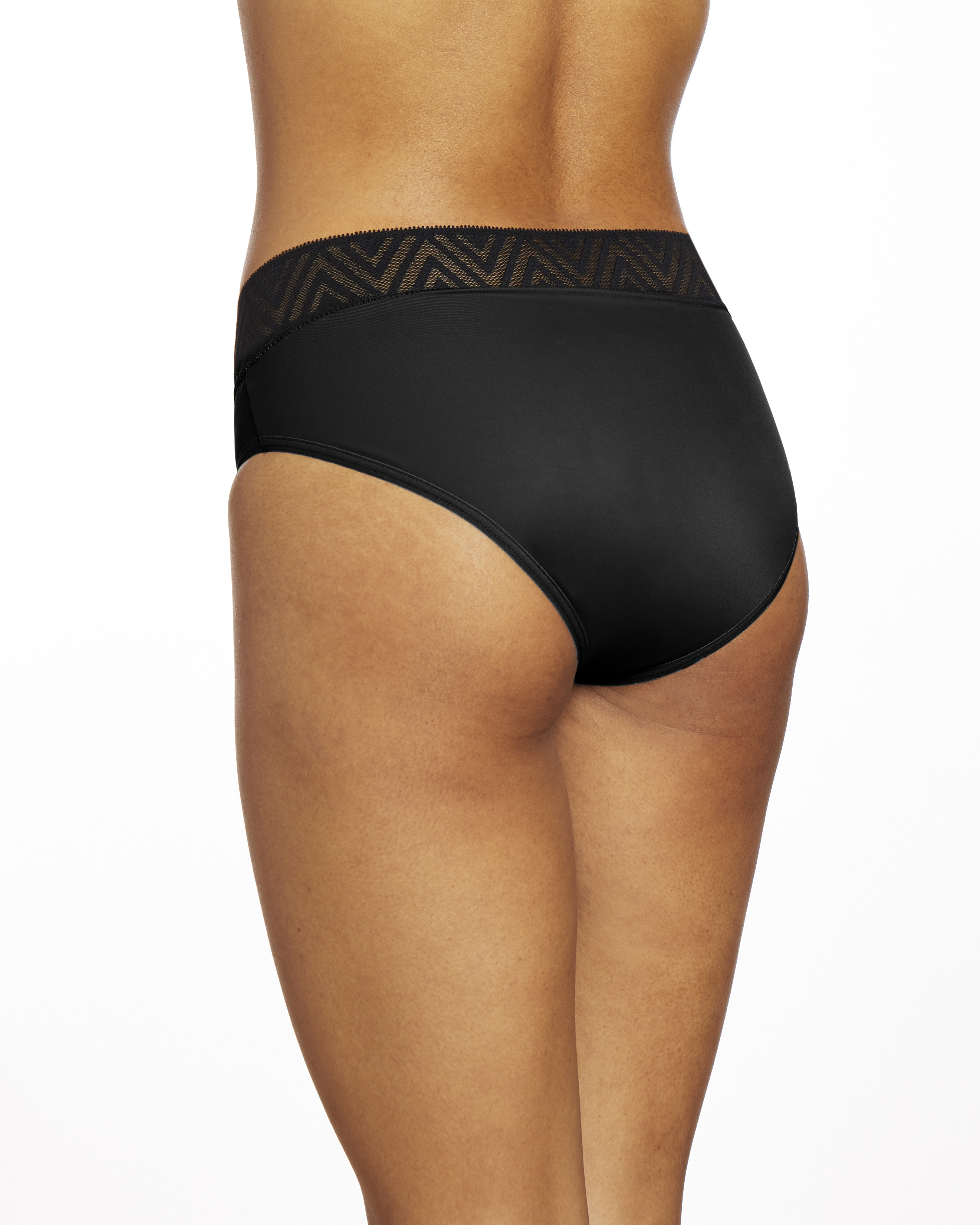 Thinx Period Proof Super Hiphugger Black XL