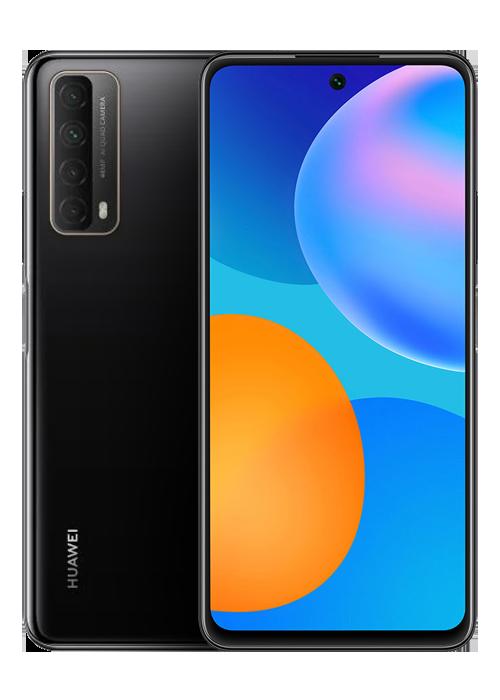 <small class='block text-sm'>Huawei</small> <b class='font-bold'> P SMART 2021</b>