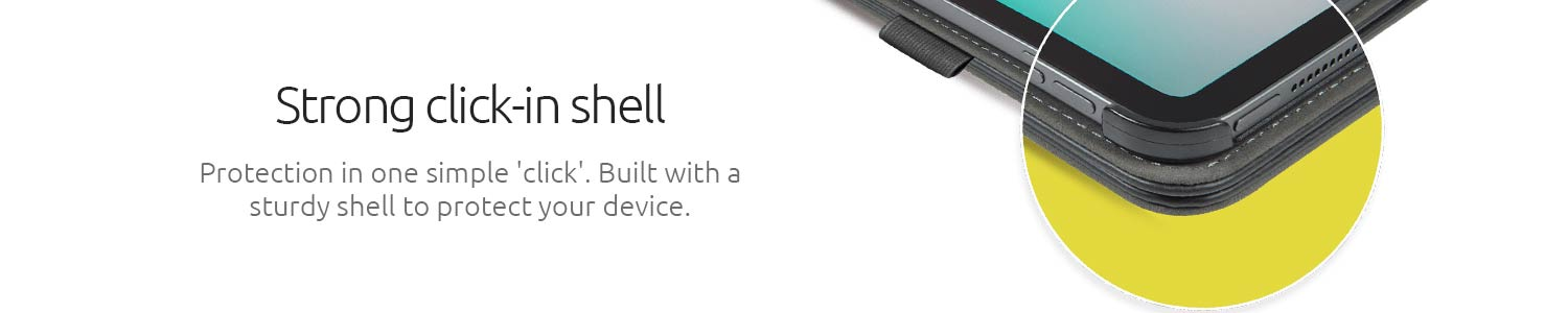 Strong click in shell