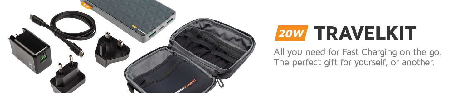 Xtorm FastCharge Travelkit, perfect as a gift