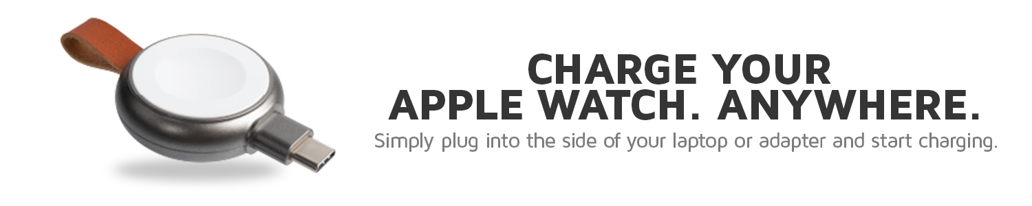 Charge your Apple Watch Anywhere