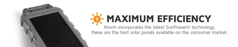 High efficiency solar panel with SunPower Solar Cells