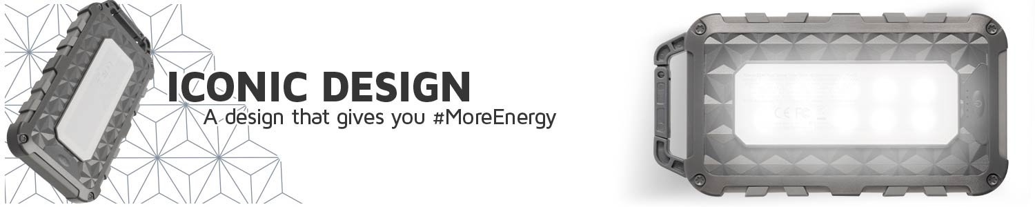 Iconic design that gives you #MoreEnergy
