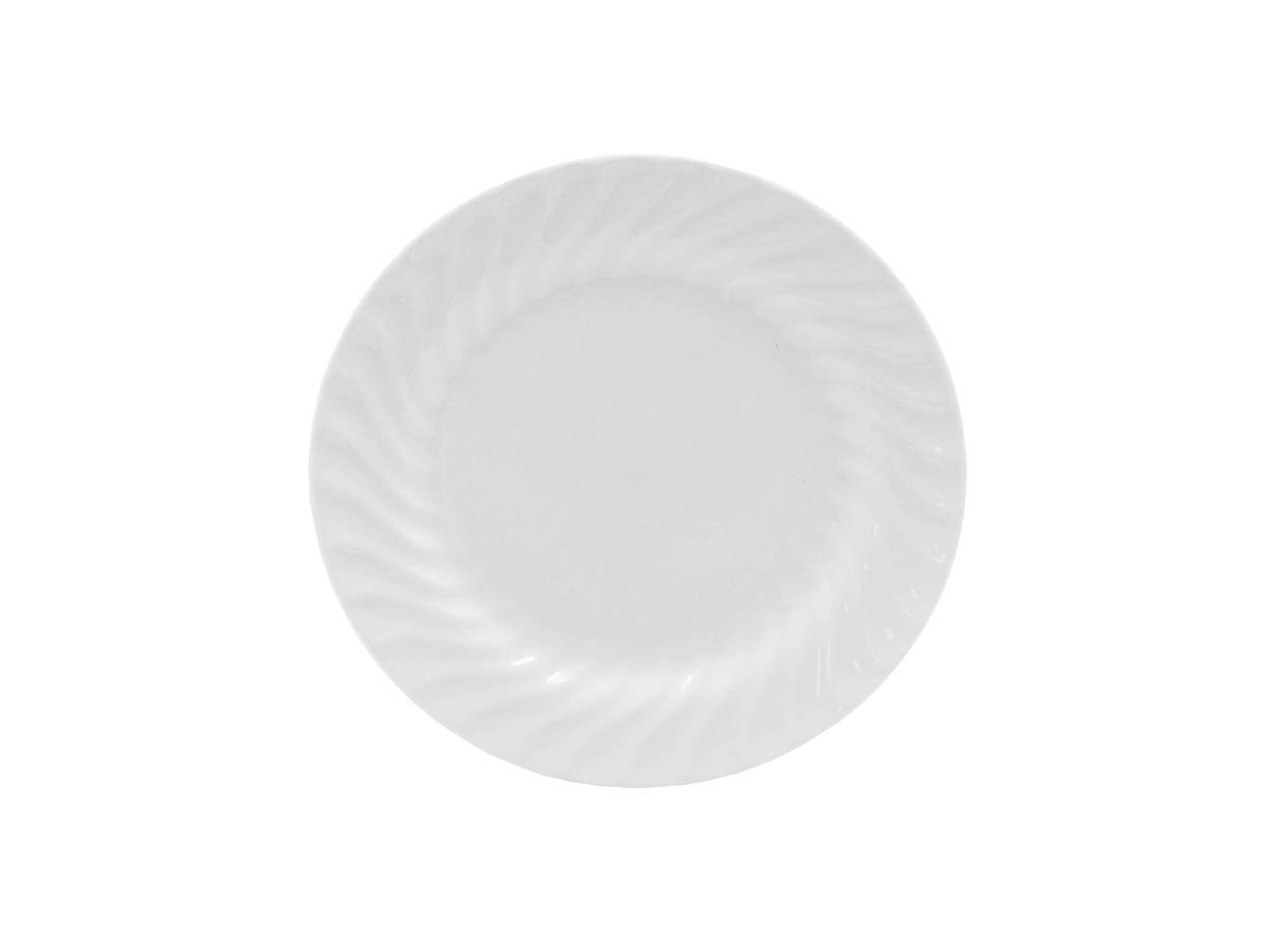 "Imperial White 7.5"" Salad/Dessert Plate"