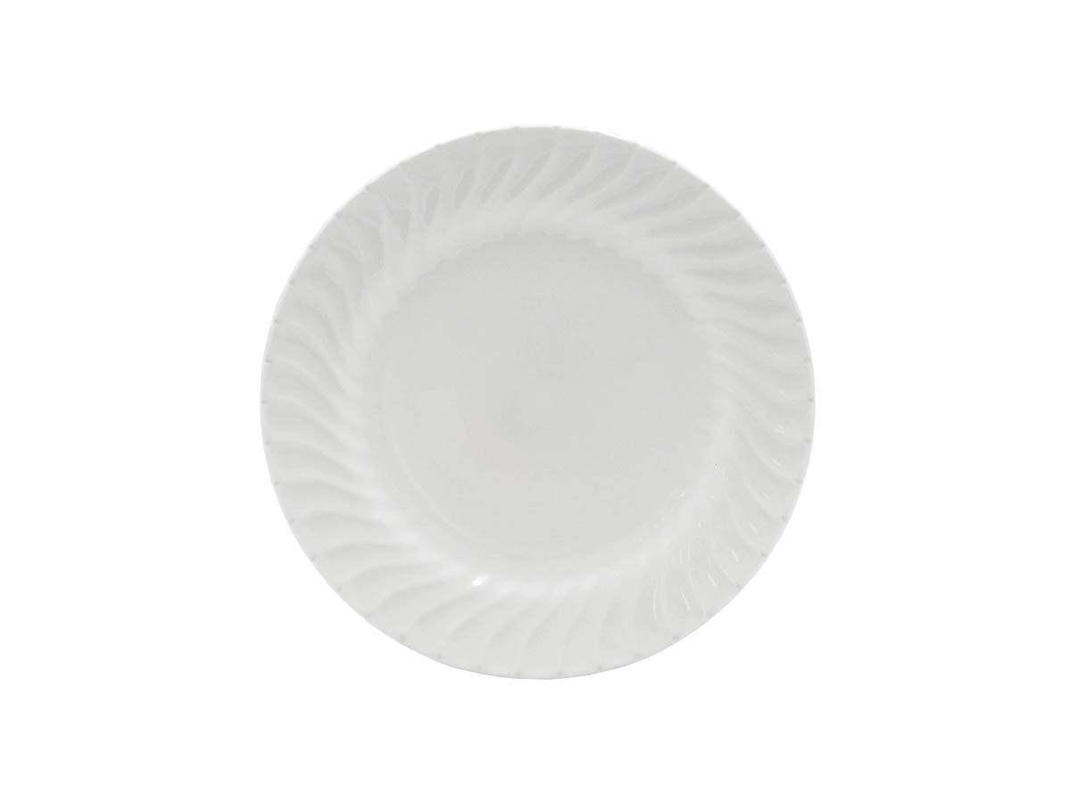 "Imperial White 9"" Luncheon Plate"
