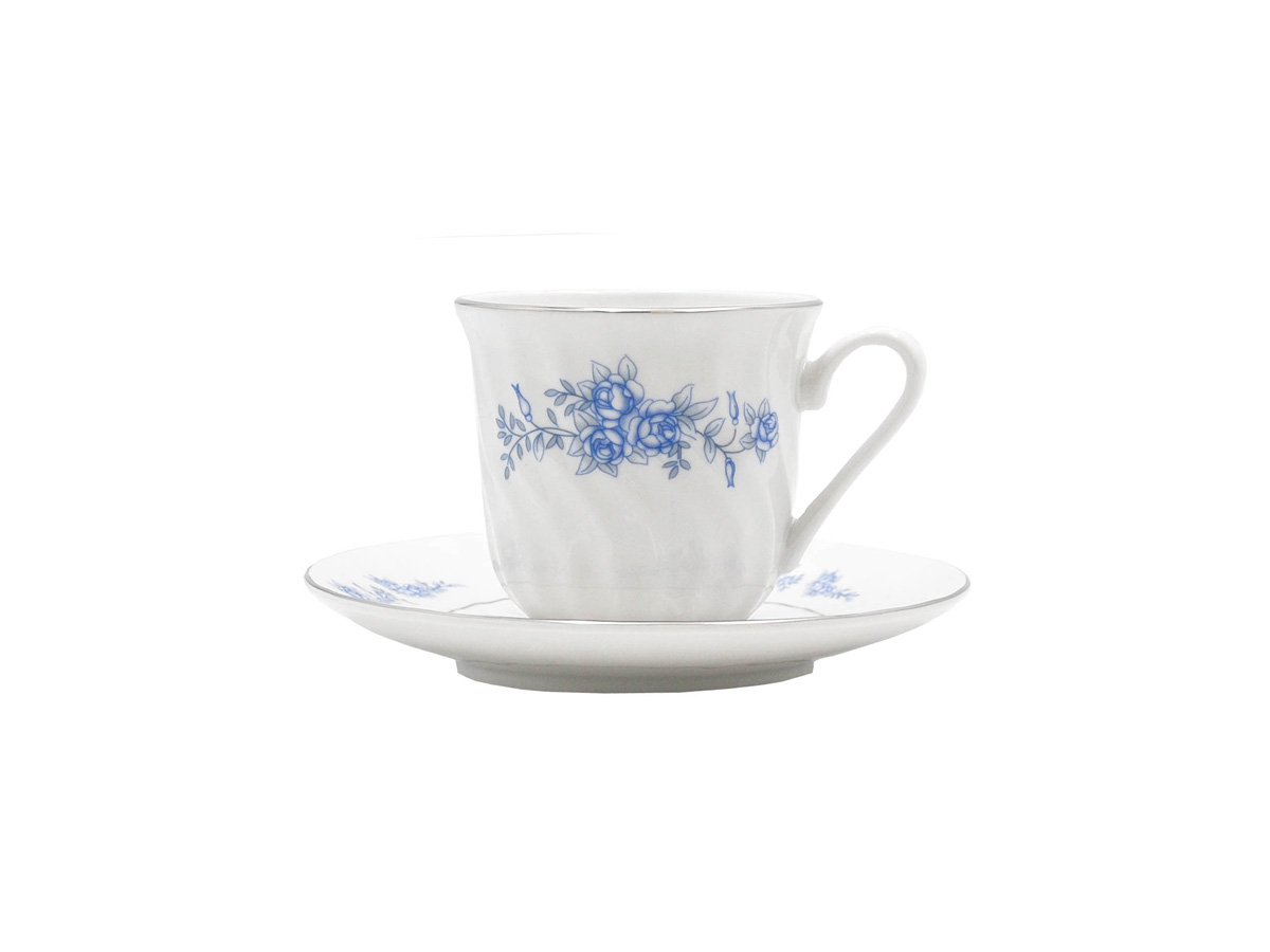 Royal Rose Set of 6 Cup & Saucer