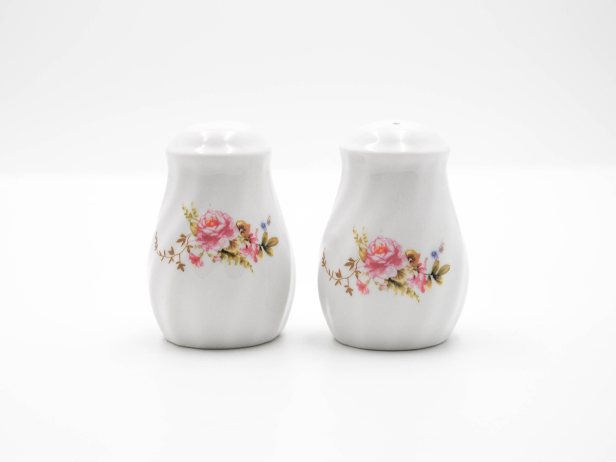 Timeless Rose Set of 2 Salt & Pepper