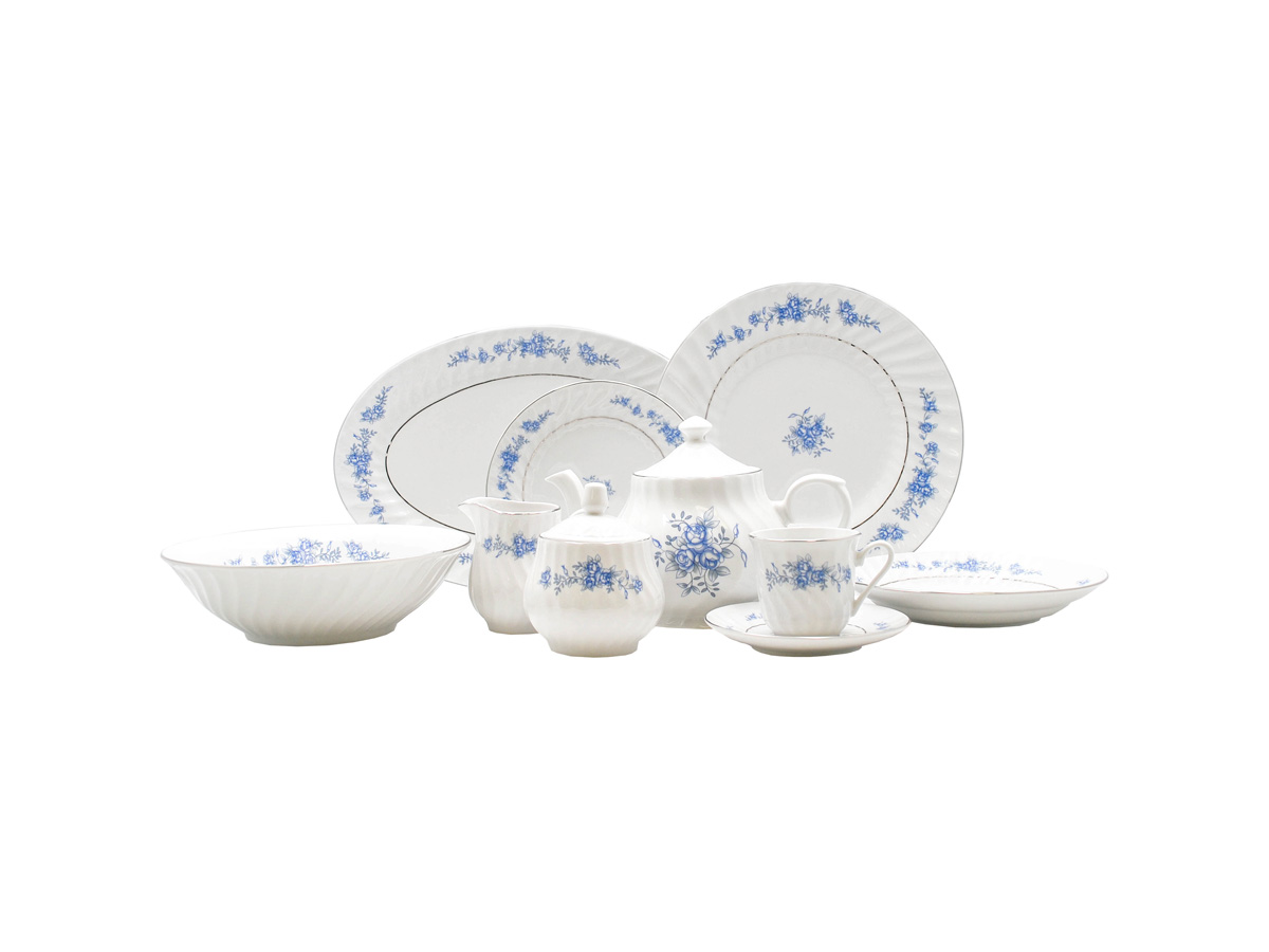 Royal Rose 45pc Dinner Set