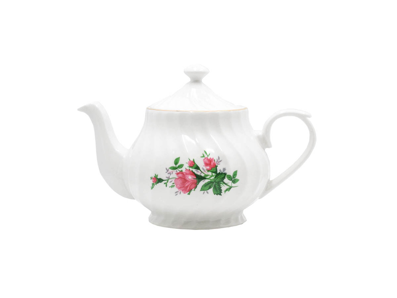 Vintage Rose 37oz Teapot