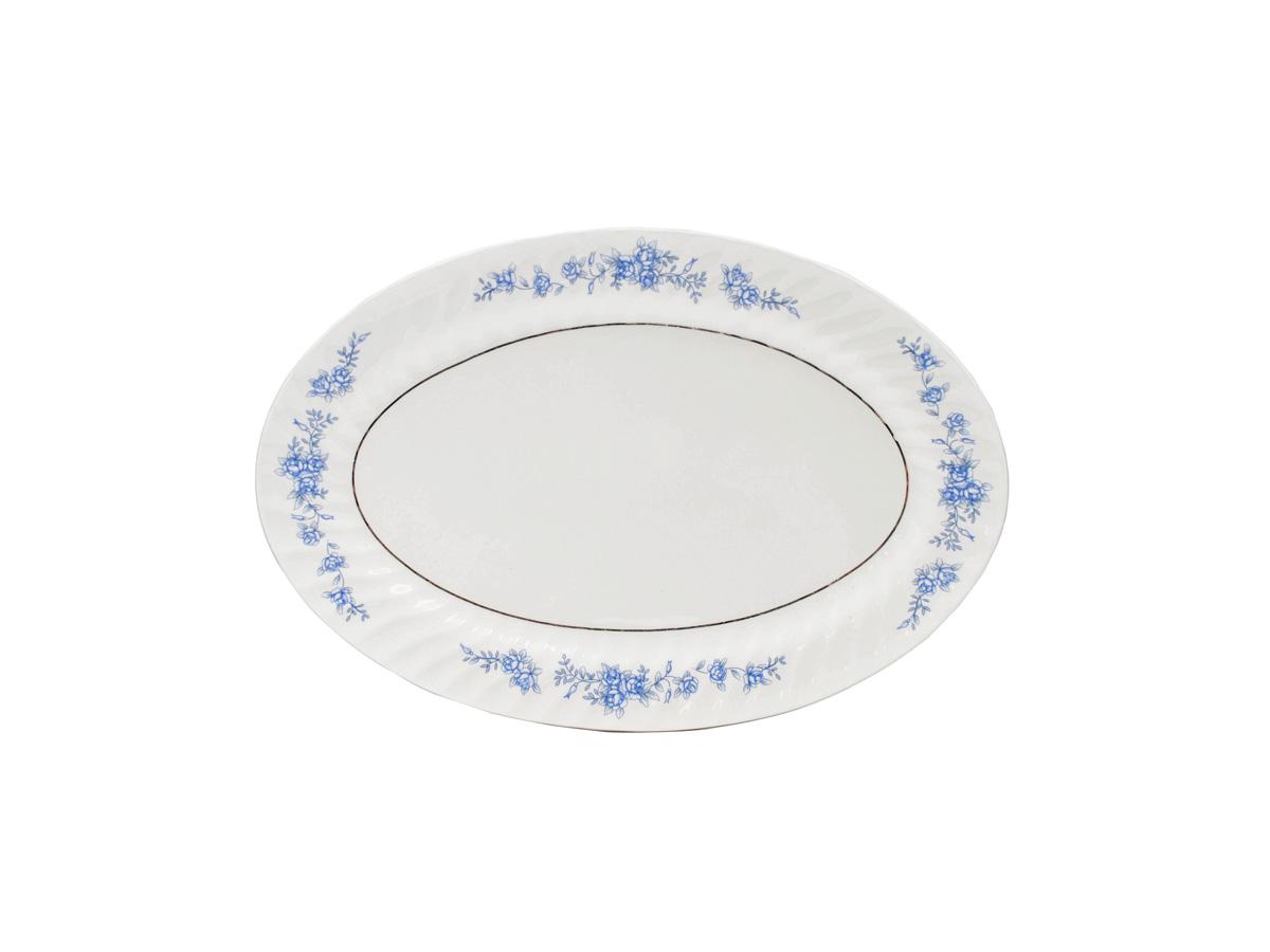 "Royal Rose 14"" Oval Platter"