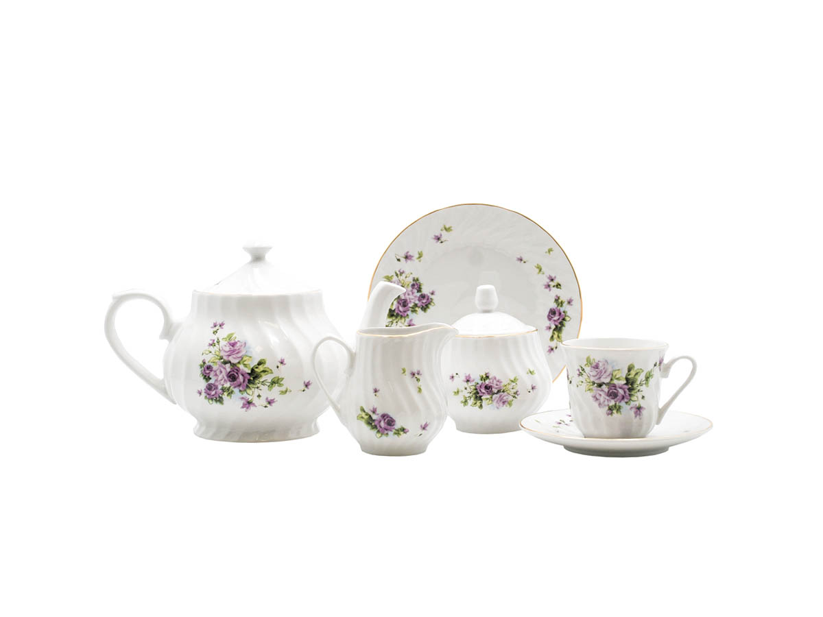 Lucinda 23-Piece Tea Set