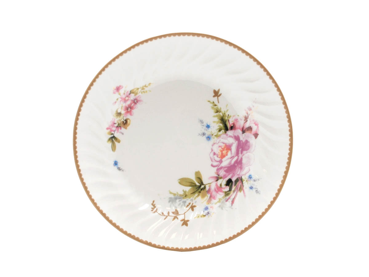 "Timeless Rose 8.25"" Soup Plate"