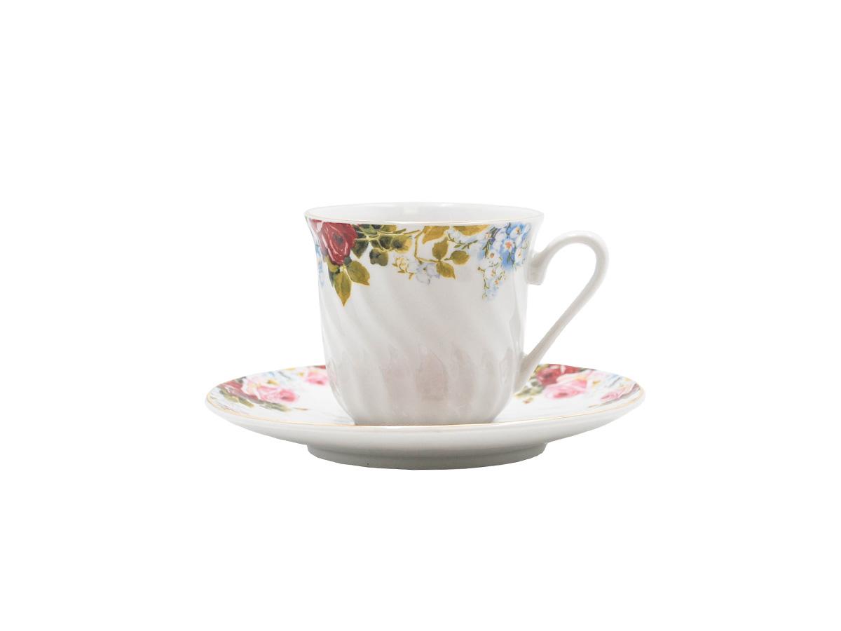 Philomena Set of 6 Cup & Saucer