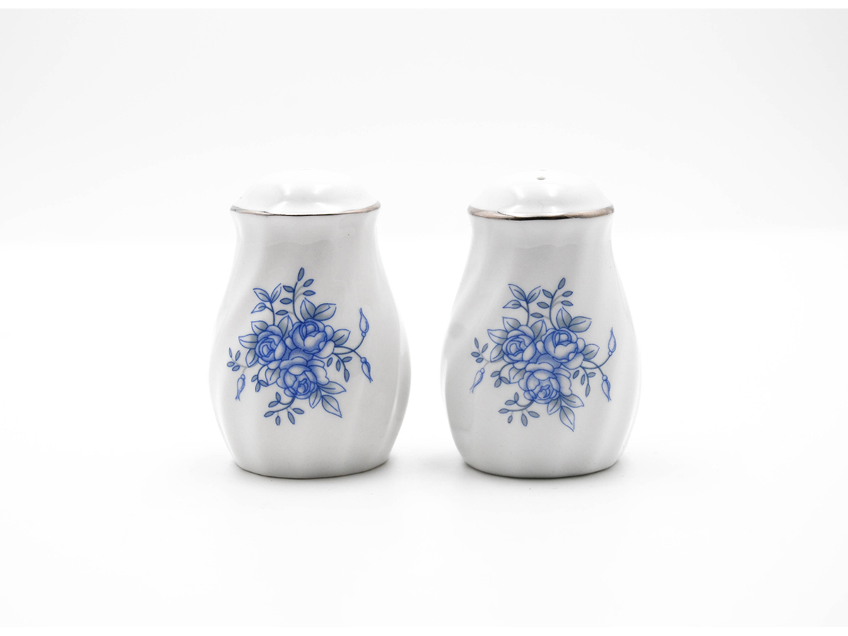 Royal Rose Set of 2 Salt & Pepper