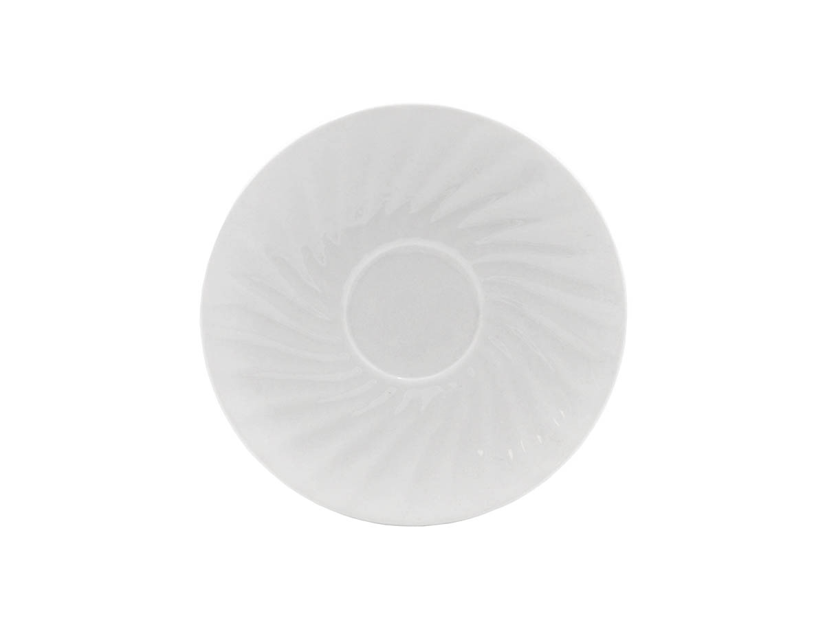"Imperial White 6"" Saucer"