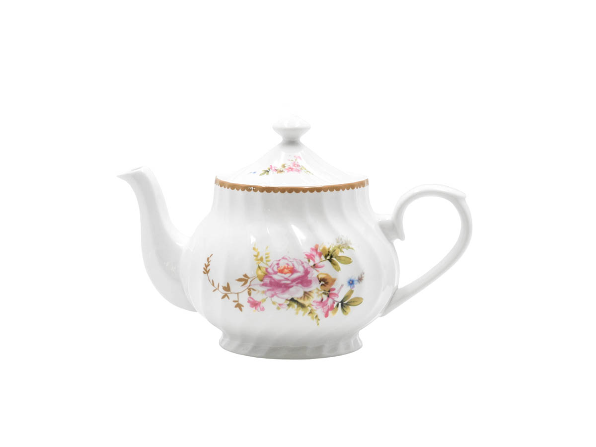Timeless Rose 37oz Teapot
