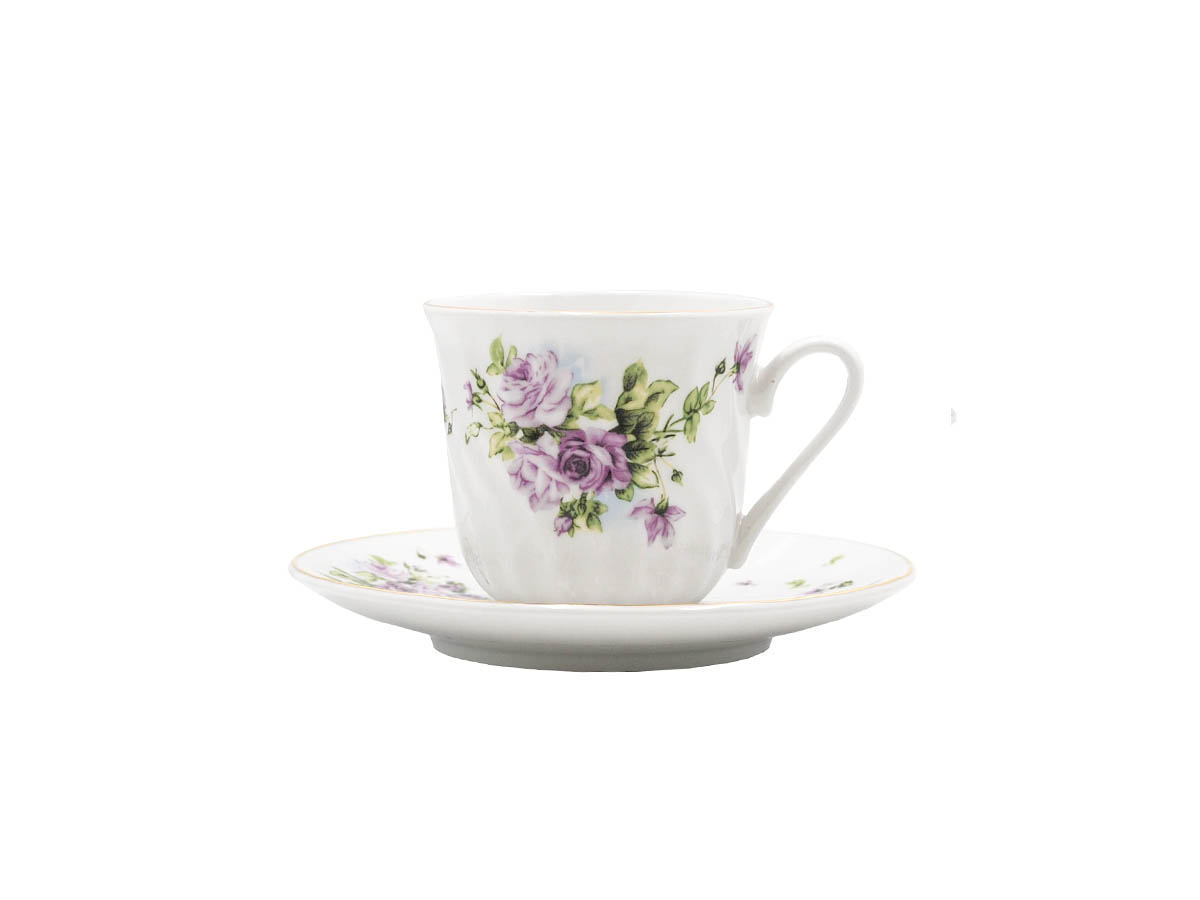 Lucinda Set of 6 Cups & Saucer
