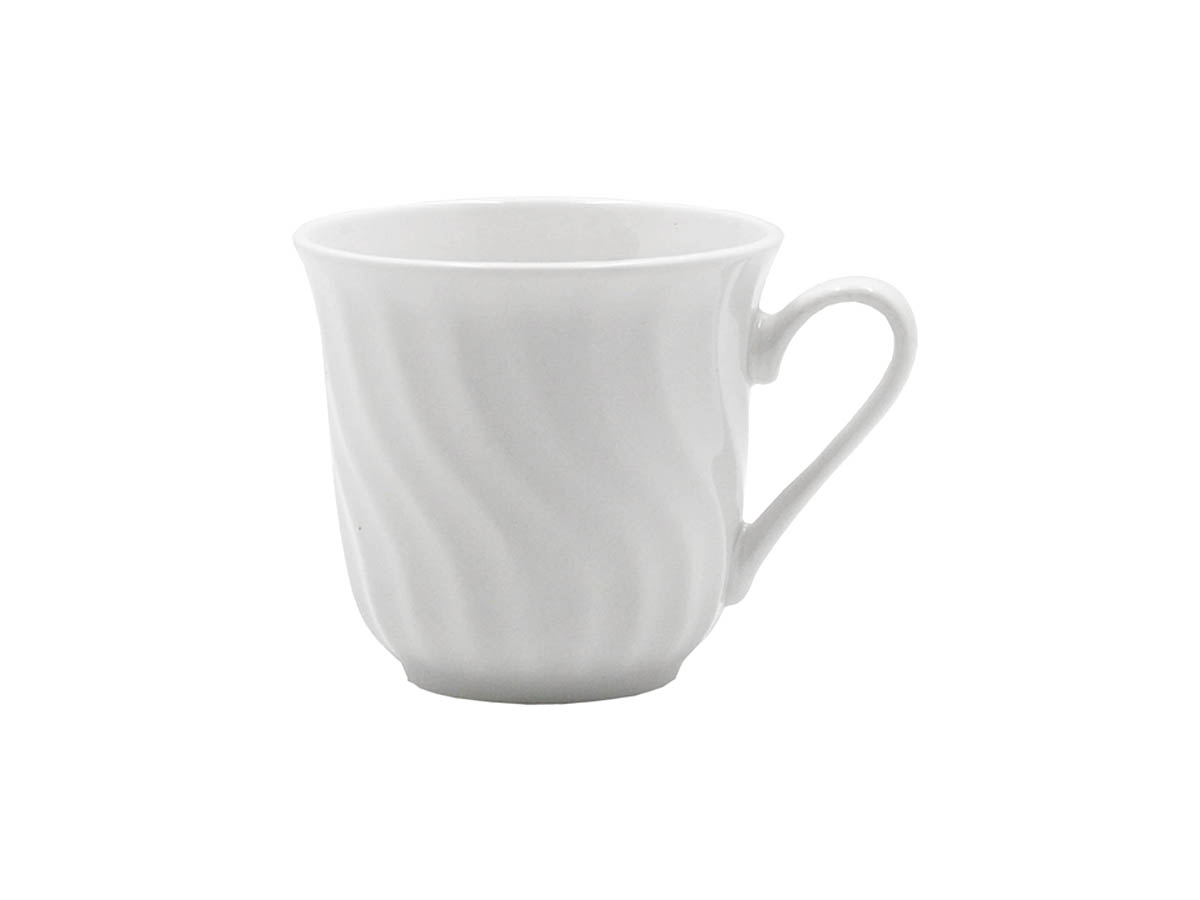 "Imperial White 3"" x 3 1/4"" Diameter Cup"