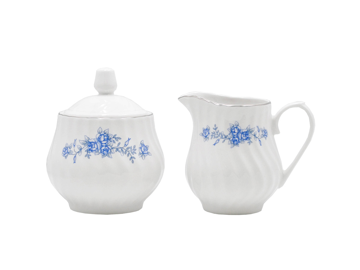 Royal Rose Set of 2 Sugar & Creamer