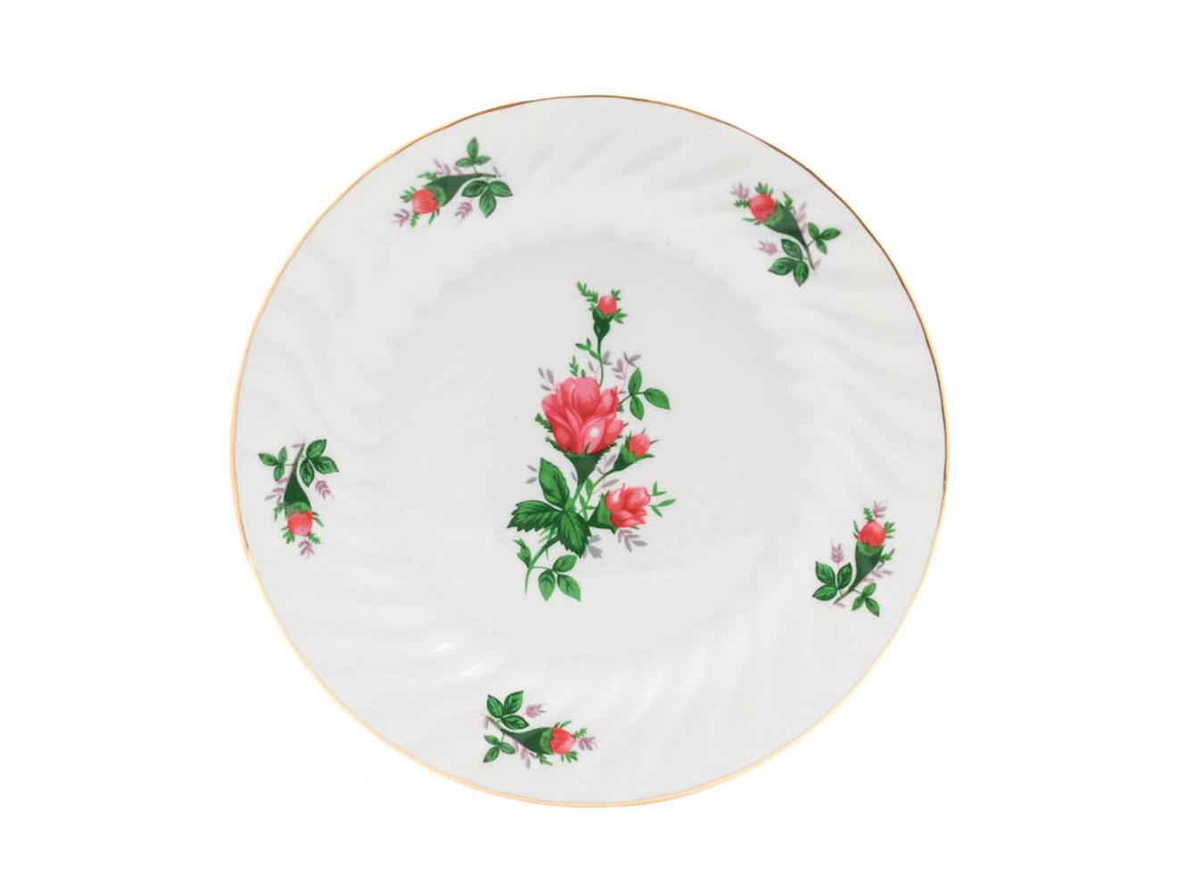 """Vintage Rose 7.5"""" Salad/Dessert Plate"""