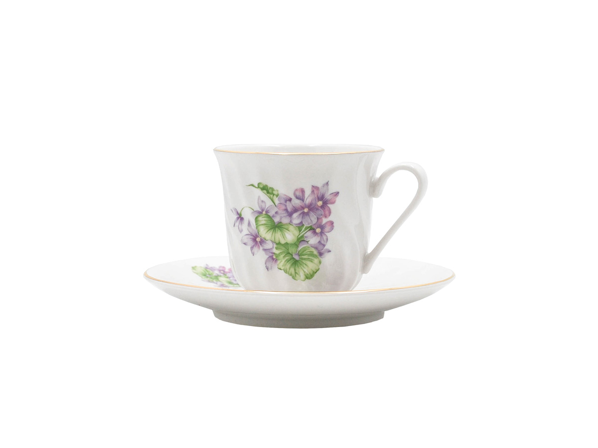 Marguerite Set of 6 Cup & Saucer