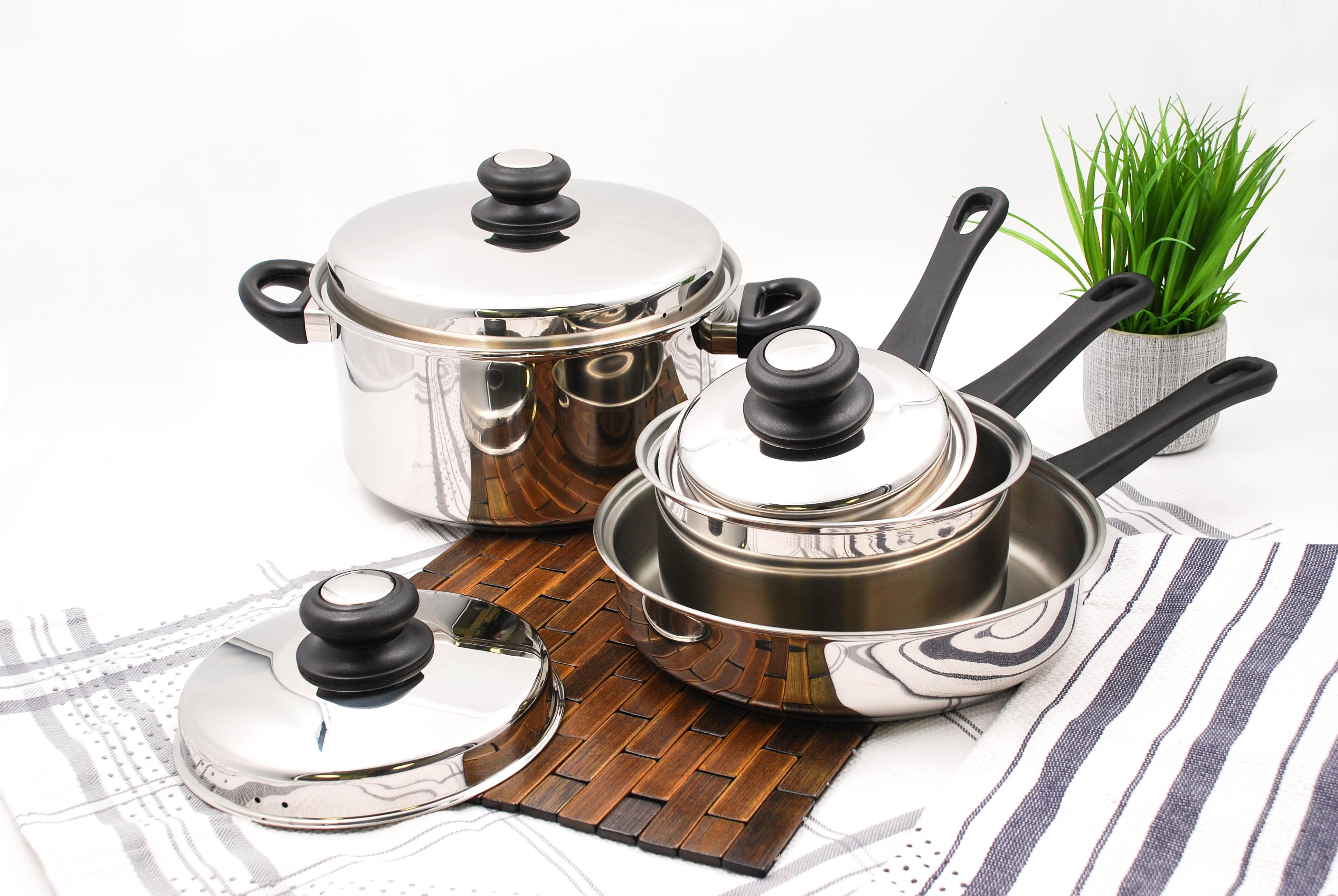 Saturn 300F Cookware Set 7pc