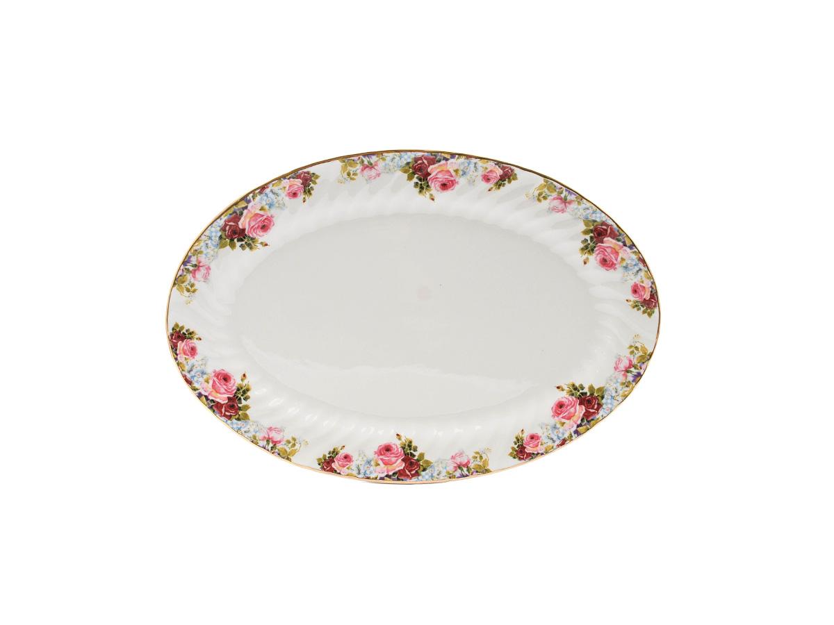 "Philomena 14"" Oval Platter"