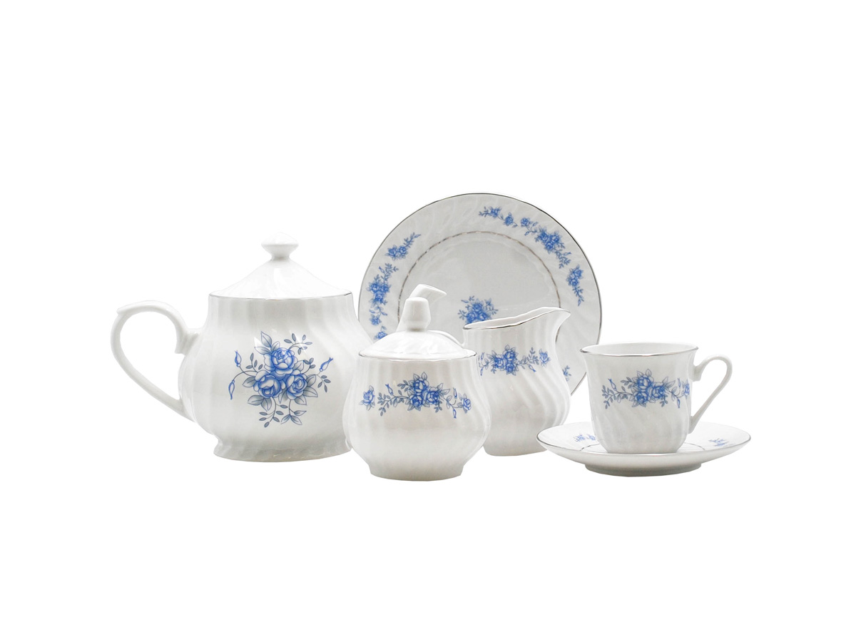 Royal Rose 23-Piece Tea Set