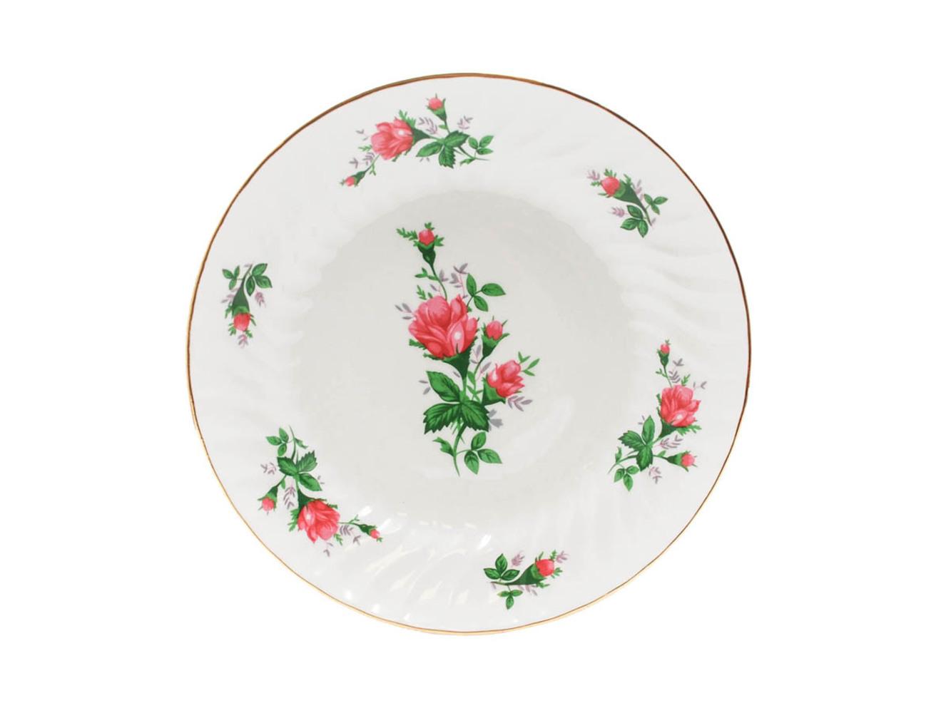 """Vintage Rose 8.25"""" Soup Plate"""