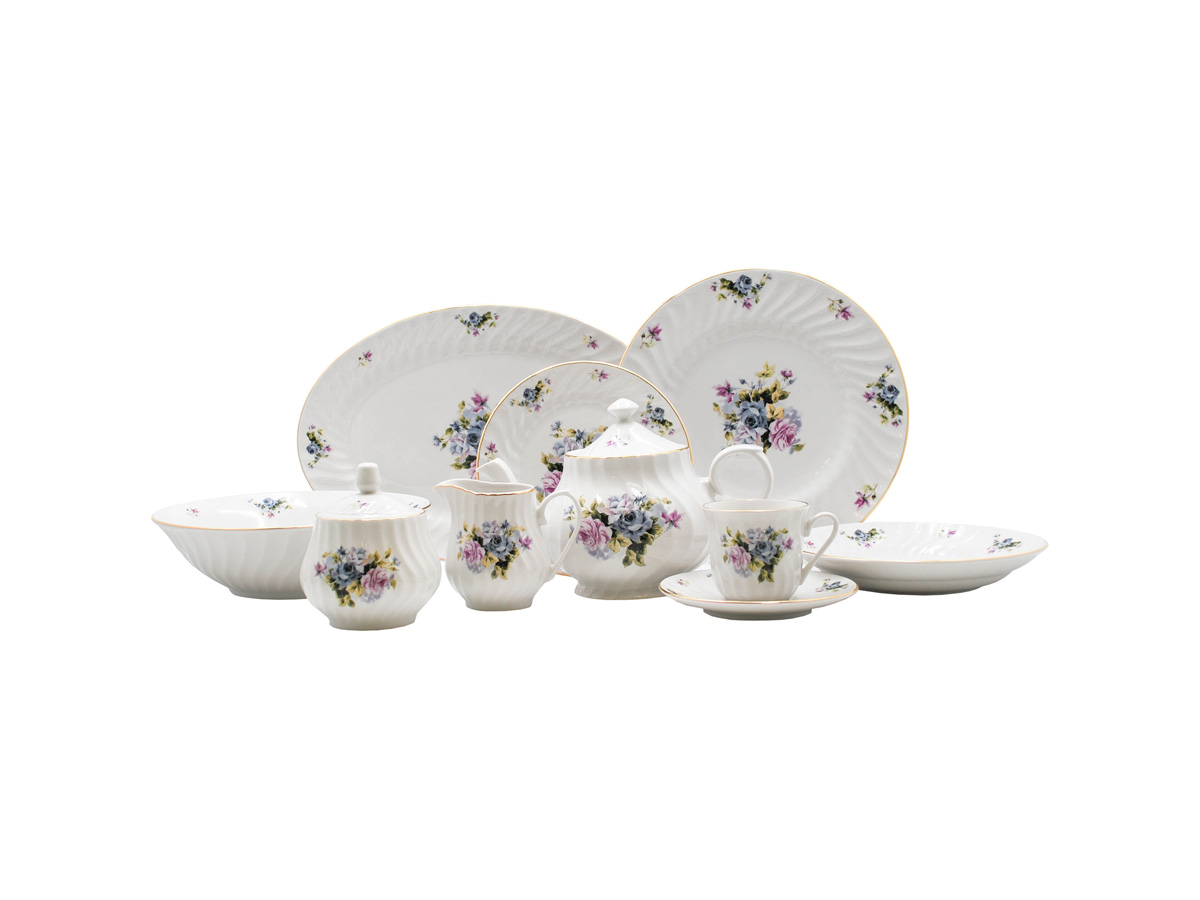 Serafina 45pc Dinner Set