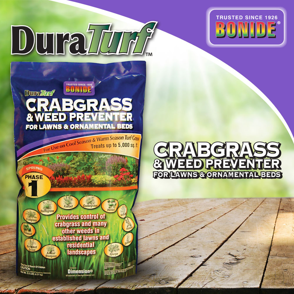 DuraTurf Crabgrass & Weed Preventer for Lawns and Ornamentals