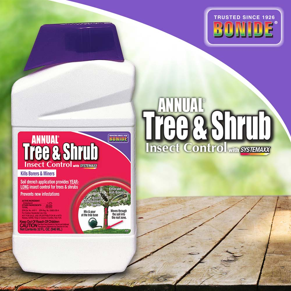 Annual® Tree & Shrub Insect Control w/ Systemaxx Conc