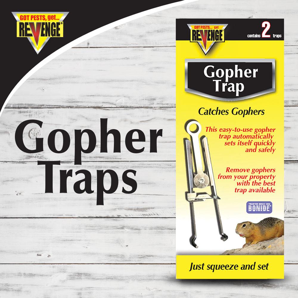 REVENGE® Gopher Traps