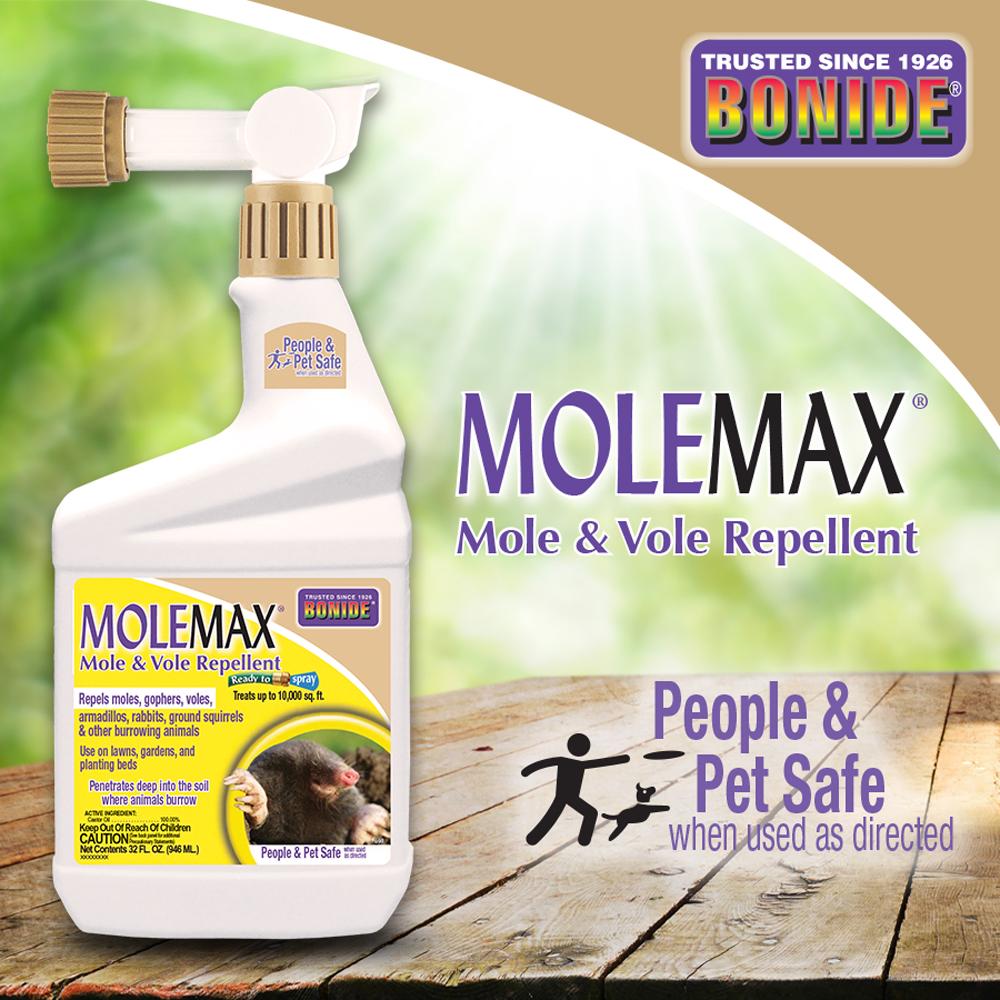 MoleMax® Mole & Vole Repellent RTS