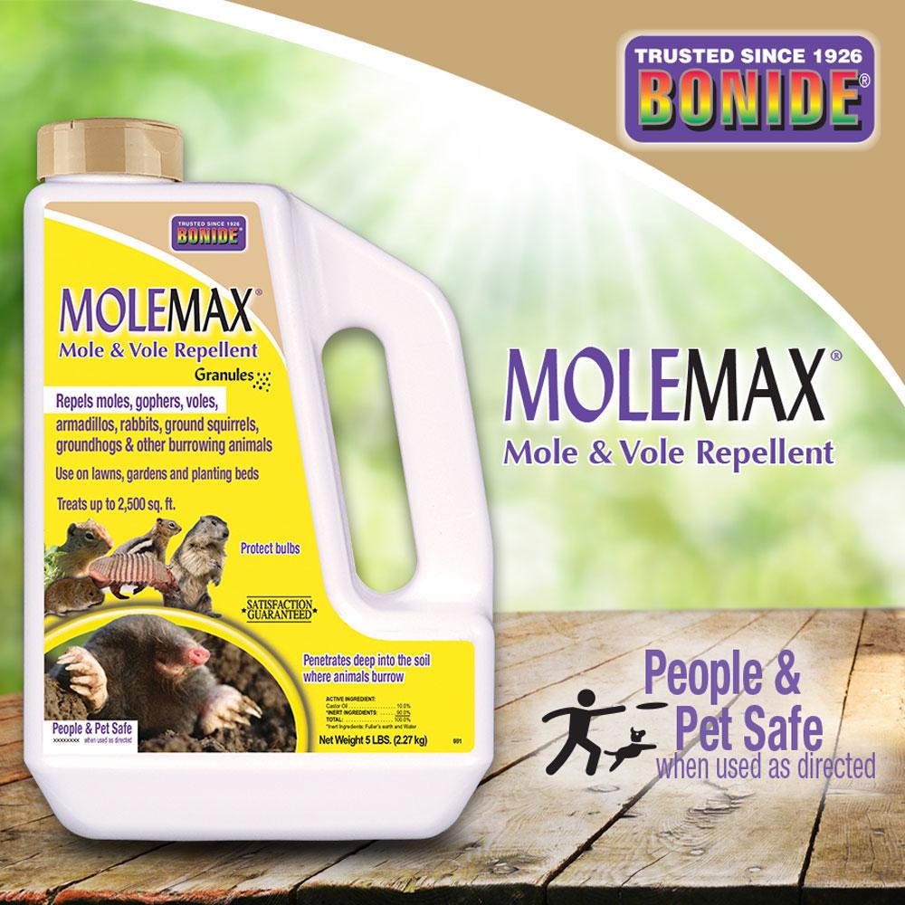 MoleMax® Mole & Vole Repellent Granules
