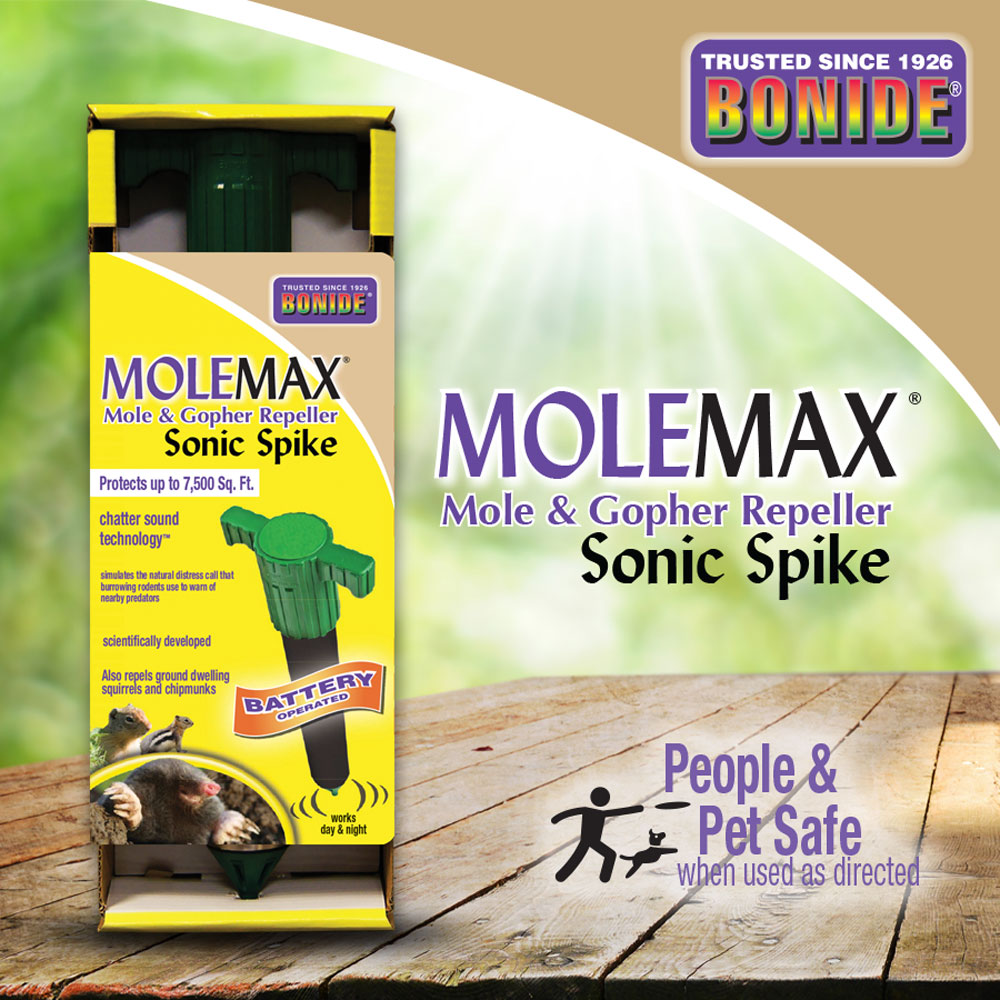 MoleMax® Sonic Stake (Battery)