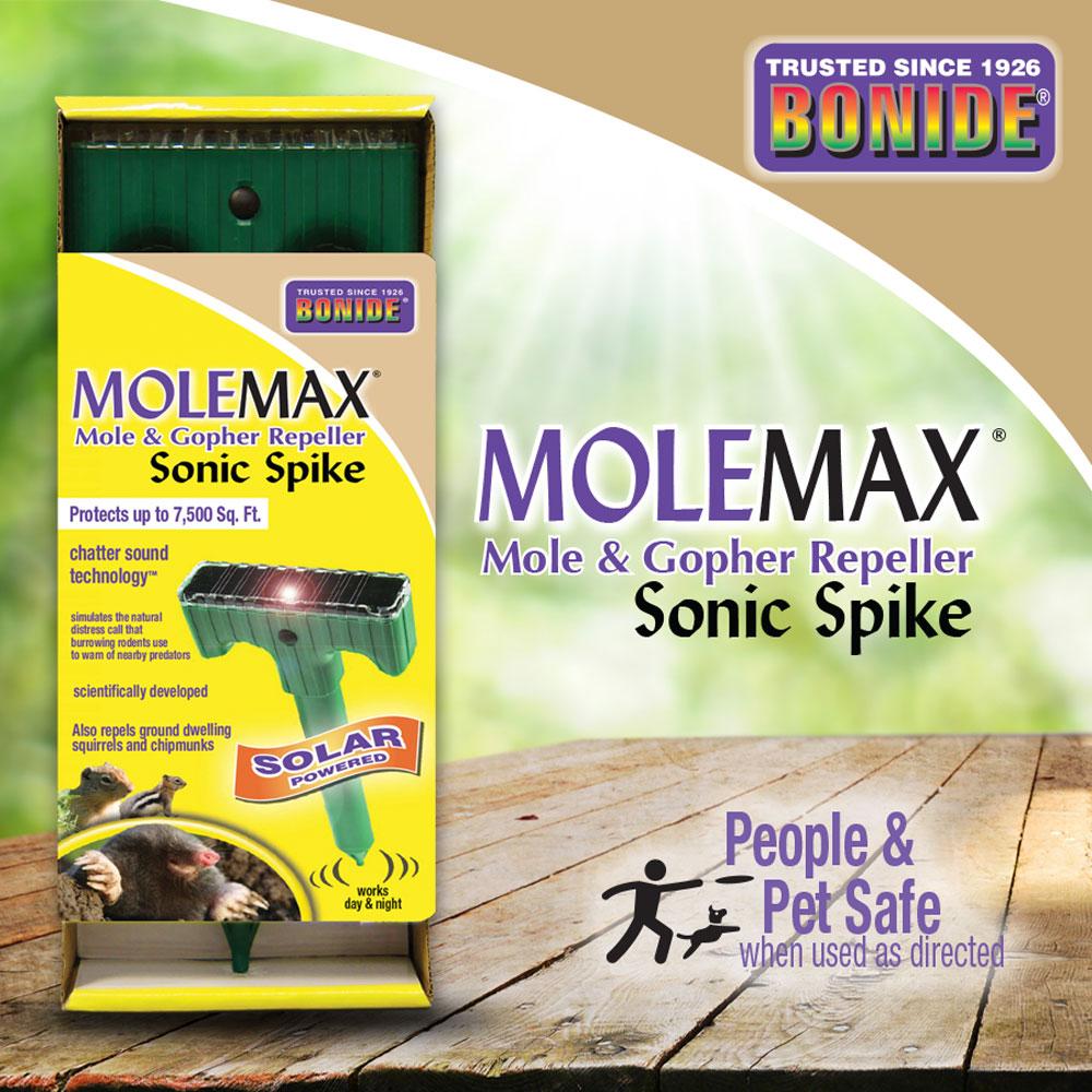 MoleMax® Sonic Stake (Solar)