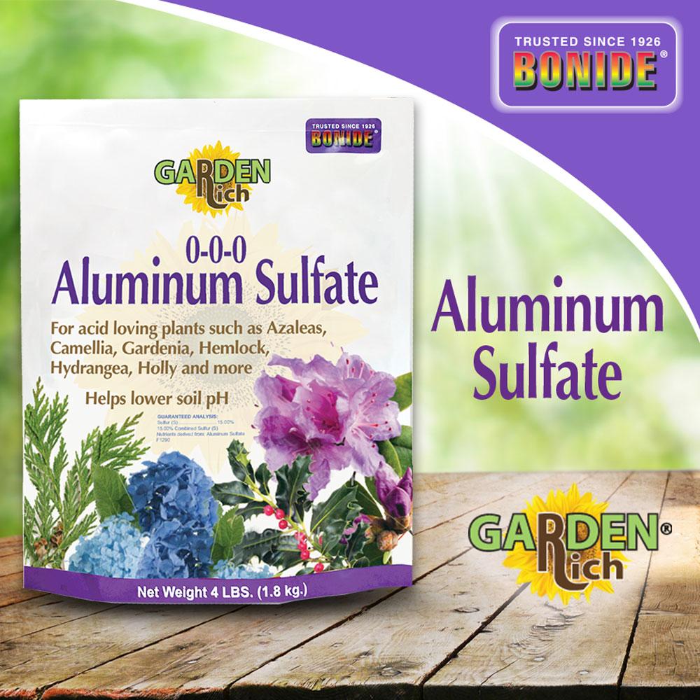 Garden Rich® Aluminum Sulfate