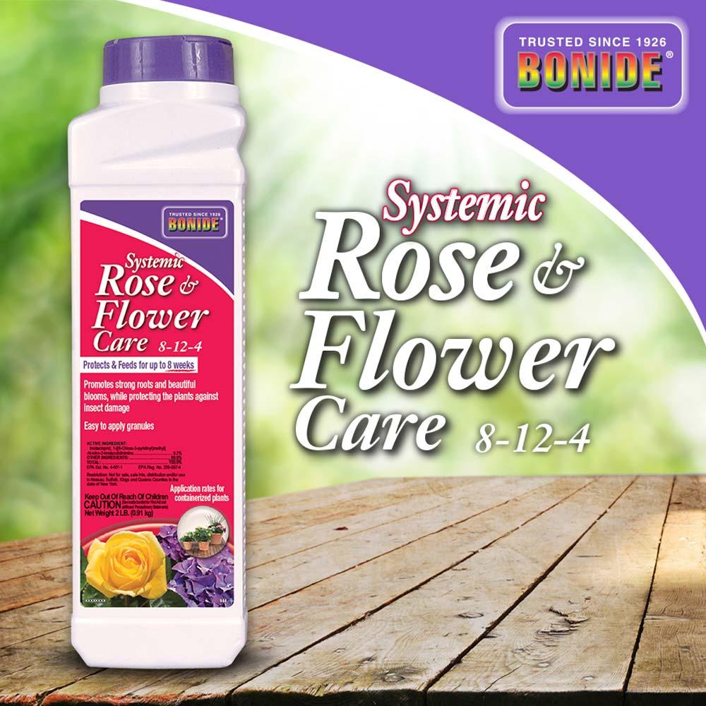 Systemic Rose & Flower Care Granules