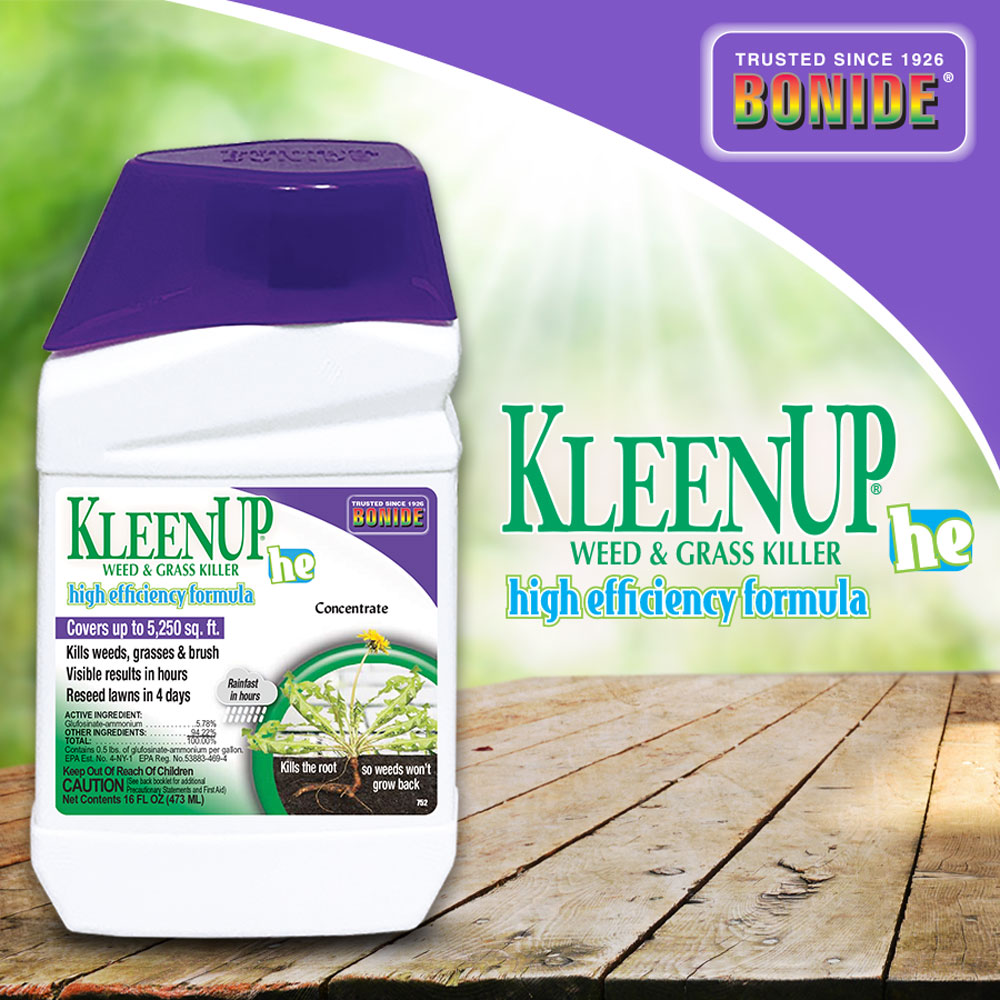 "KleenUp® ""HE"" High Efficiency Weed & Grass Killer Conc"