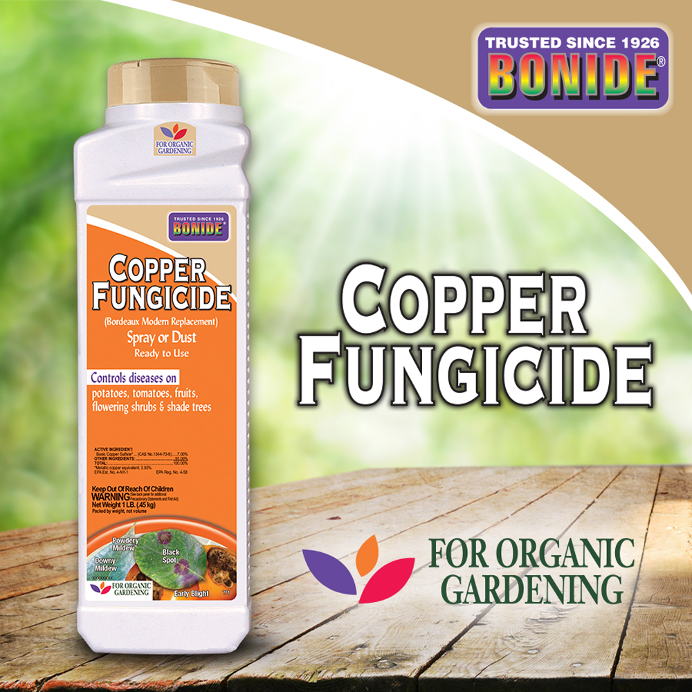 Copper Fungicide Dust