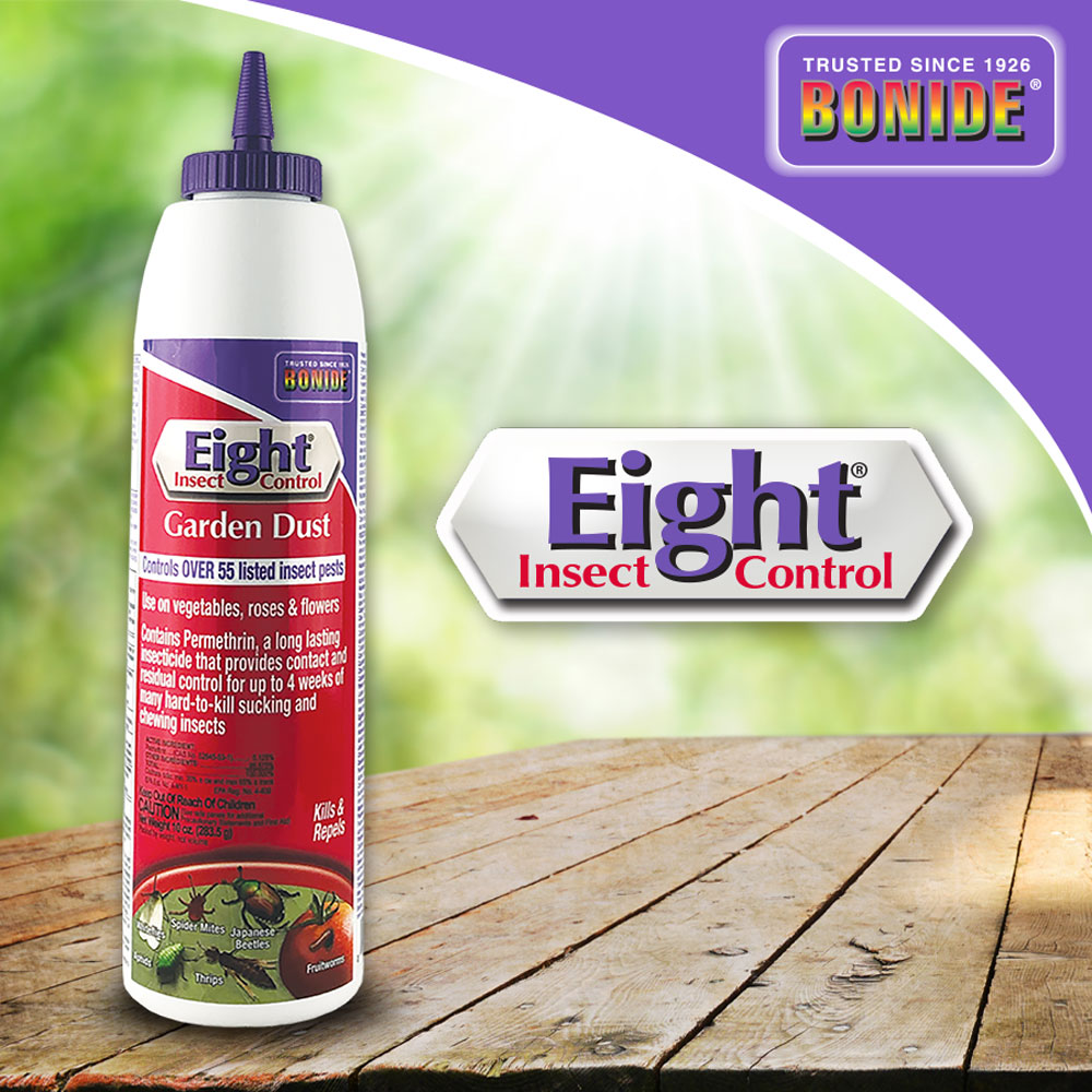 Eight® Insect Control Garden Dust