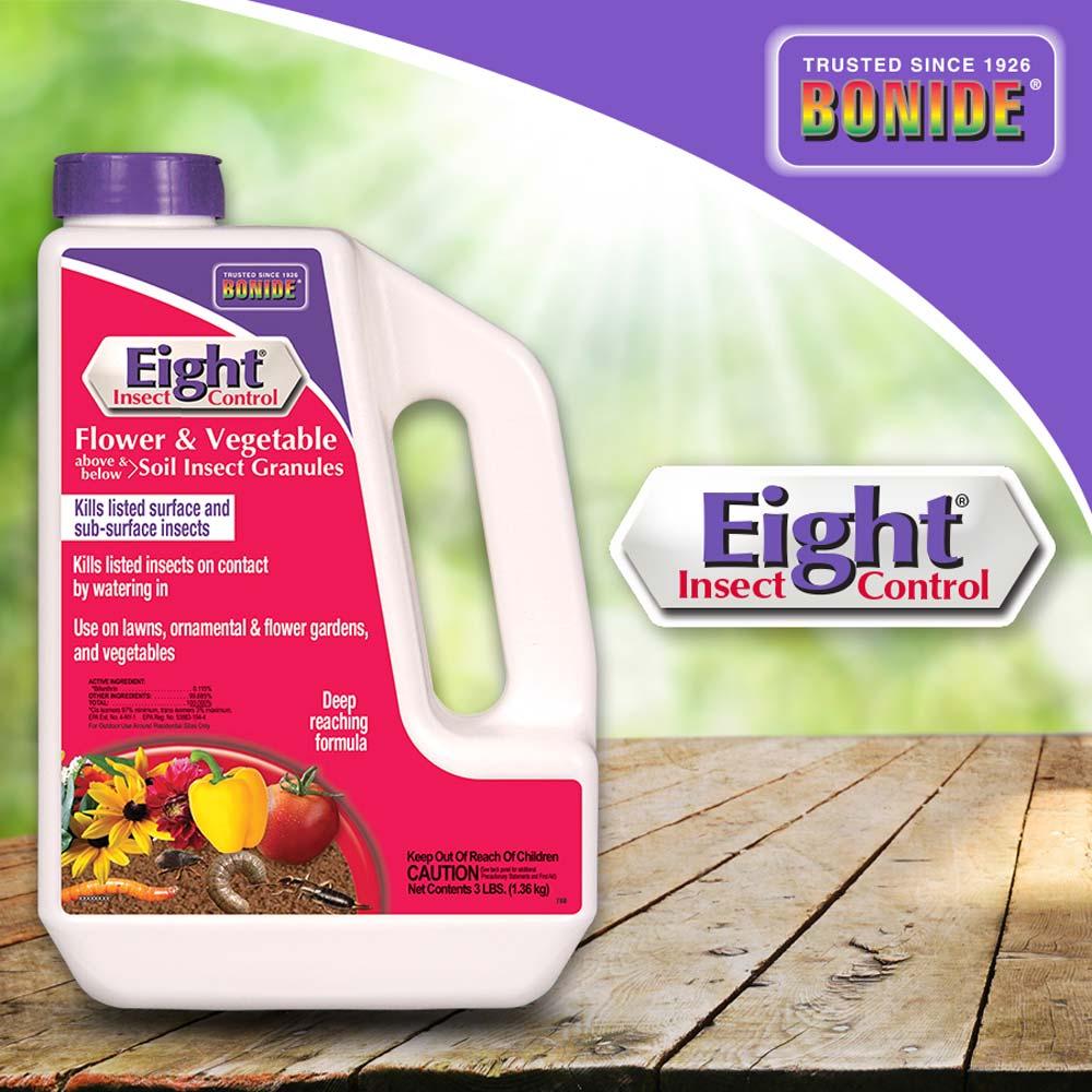Eight® Flower & Vegetable Soil Insect Granules
