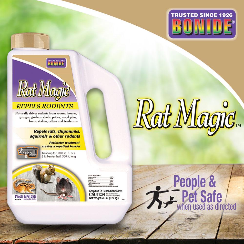 Rat Magic® Rodent Repellent Granules